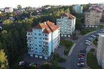 Družstevní domy v ulici Seniorů. Ilustrační foto.