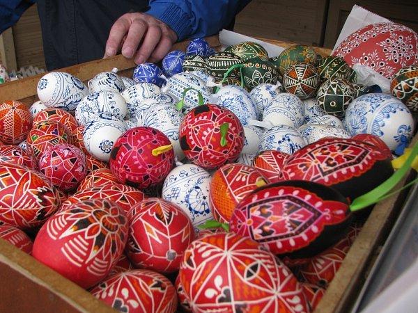 Velikonoční trhy vcentru Liberce.