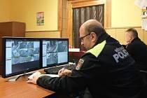 Městská policie, kamerový systém.