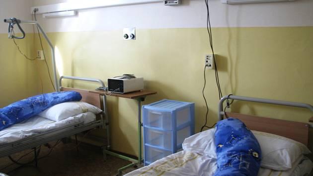 Jednotka následné péče ve frýdlantské nemocnici.