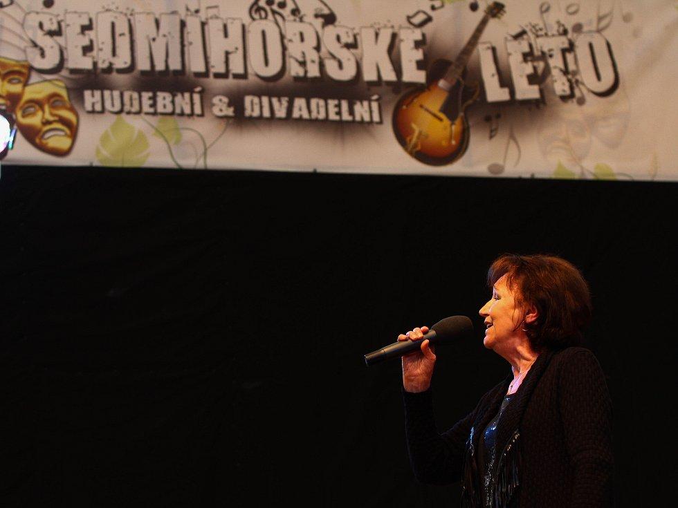 MARTA KUBIŠOVÁ: Poslední recitál na Sedmihorském létě.