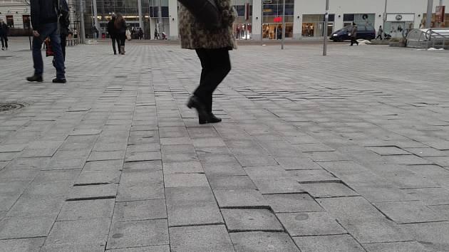 Soukenné náměstí se moc nepovedlo.
