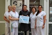 Markéta Pechová podpořila libereckou onkologii.