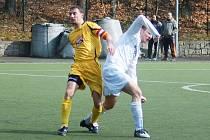 Jan Koťátko, který si zachytal i hokejovou extraligu za liberecké Bílé Tygry, přesedlal na fotbal. Ale místo v brance je v ruprechtickém útoku.