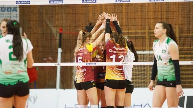 Liberecké volejbalistky vedou v sérii již 2:0 na zápasy