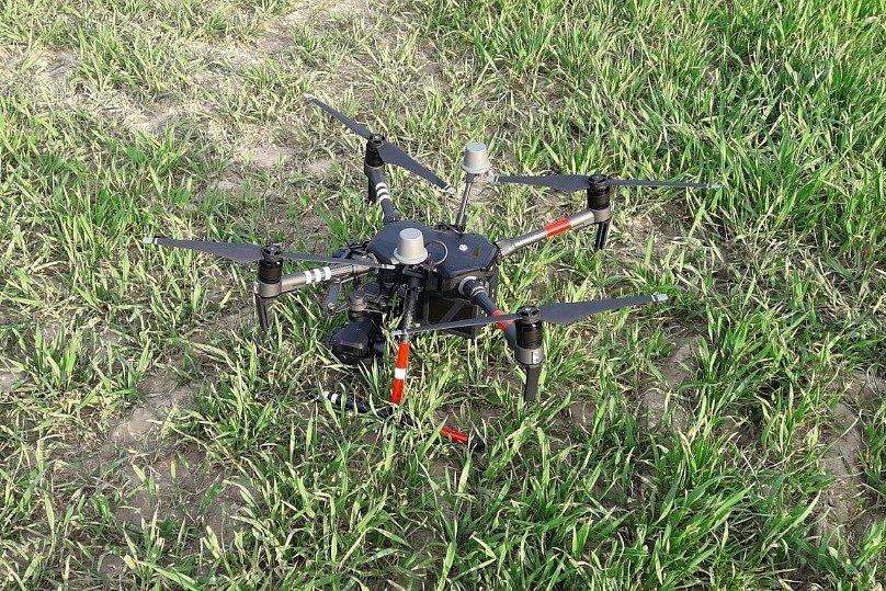 Nasazení dronu si hasiči vyzkoušeli u nedávného požáru lesního porostu v Tuhani na Českolipsku.