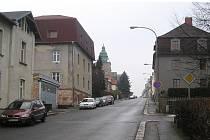Americká ulice v Liberci.