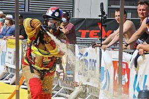 """Čtyřiadvacetiletý český """"ohnivý lev"""" reprezentoval více než obstojně hasičský sbor na mistrovství Evropy vhasičském silovém sportu, které proběhlo minulý týden vněmeckém Hannoveru."""