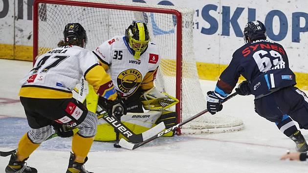 Liberec prohrál s Litvínovem po samostatných nájezdech.
