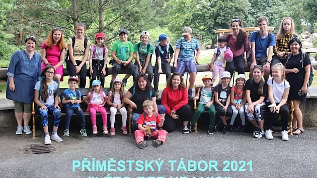VLiberci se uskutečnil již tradiční příměstský tábor nejen pro neslyšící děti pořádaný organizací Tichý svět.