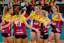 Liberecké volejbalistky dominují extralize žen.