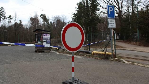 Zákaz parkování na Liberecku.