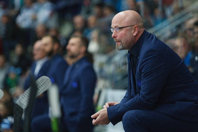 28. kolo extraligy ledního hokeje mezi Bílí Tygři Liberec a HC Sparta Praha