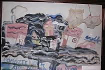 DĚTSKÝ TALENT A DOBRÝ PEDAGOG. Na nejlepších dílech výtvarné soutěže Základních uměleckých škol dokladuje Ivana Vykypělová, kde se skrývá tajemství úspěchu.