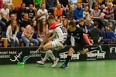Zápas 1. kola florbalové Tipsport Superligy mezi týmy FBC Liberec a TJ Znojmo LAUFEN CZ se odehrál 1. září v Liberci.