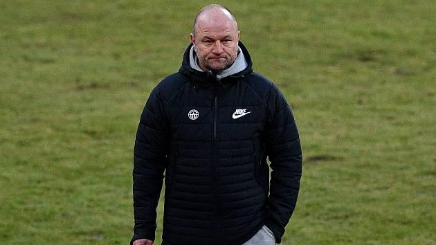 Utkání 9. kola první fotbalové ligy: Baník Ostrava - Slovan Liberec, 27. ledna 2021 v Ostravě. Trenér Liberce Pavel Hoftych.