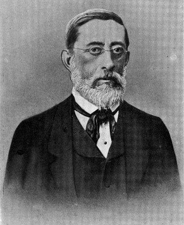 Továrník a později ipolitik Josef Pfeiffer.
