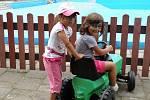 Dětský den  na libereckém koupališti Vápenka, 2011.