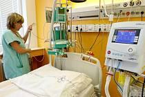 Novou Jednotku intenzívní péče začali v těchto dnech využívat v interním oddělení Krajské nemocnice v Liberci.