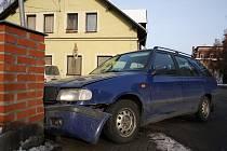 Dopravní nehoda v libereckém Vesci.