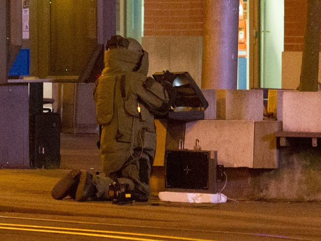 Policisté uzavřeli centrum Liberce. Mysleli, že v podezřelém kufříku je bomba.