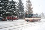 Liberec bojuje s přívaly sněhu.
