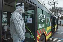 Speciální Covid Test Bus.