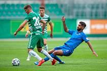 Fotbalisté Slovanu podlehli v generálce Rapidu Vídeň 0:3.