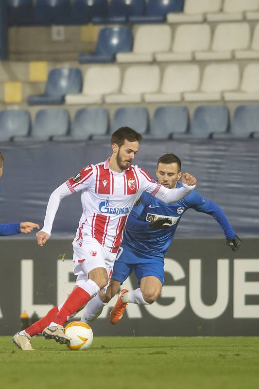 FC Slovan Liberec - FK Crvena zvezda (skupina L) 0:0poločas