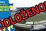 Duel první fotbalové ligy mezi Teplicemi a Libercem byl odložen z důvodu nezpůsobilosti hrací plochy.