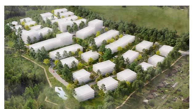 36 bytových domů, mateřská školka, dům pro seniory nebo rychlonabíjecí stanice pro elektromobily. To vše by mělo vzniknout v nové čtvrti na okraji Liberce, jejíž stavbu připravuje společnost Syner Group.