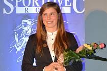 Olympionička Eva Samková z Dukly Liberec vystřídala na pomyslném trůnu loňského vítěze ankety O nejúspěšnějšího sportovce Liberecka Radoslava Kováče.
