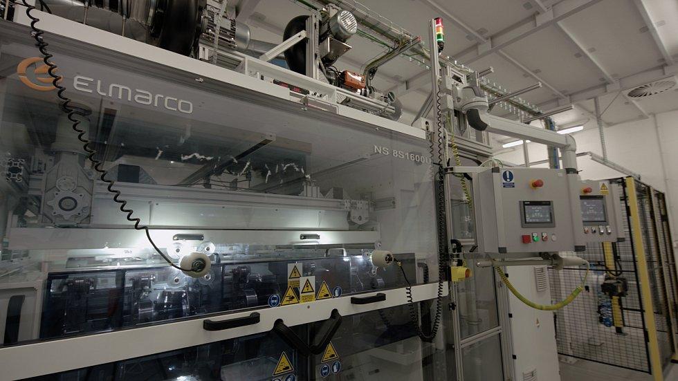 Společnost NAFIGATE Park začala vyrábět membrány znanovláken vobci Andělská Hora nedaleko Liberce.