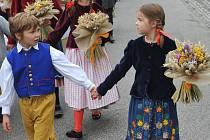 Krajské dožínkové slavnosti na Sychrově 2017.