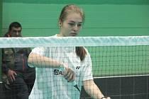 DANA GRINĚNKOVÁ. Badmintonistka Slovanu Vesec skončila spolu s Kryštofem Bumbálkem ve smíšené čtyřhře druhá.