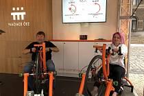 Oranžová kola na Anifilmu.