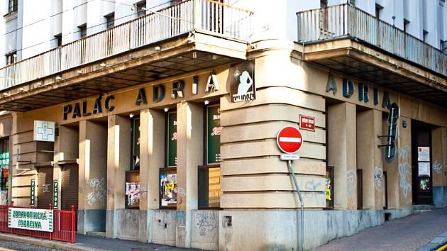 Palác Adria v Liberci.