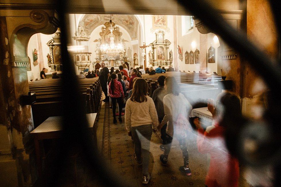 Noc kostelů ve vratislavickém kostele v Liberci