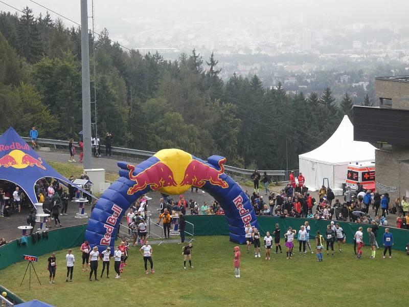 Extrémní běh do můstku - Red Bull Liberec 400 2021
