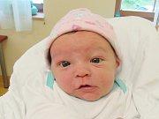 VANESA VELVARSKÁ Narodila se 23. července v liberecké porodnici mamince Karolíně Aisnerové z Vratislavic nad Nisou. Vážila 3,90 kg a měřila 53 cm.