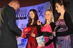 5.místo - kolektiv, mládež, starší žákyně Sportaerobic Liberec, Aneta Chlumská, Barbora Mazánková, Kateřina Fáčková.