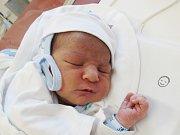 ALEX HUGR Narodil se 10. dubna v liberecké porodnici mamince Denise Hugrové z Liberce. Vážil 3,29 kg a měřil 50 cm.