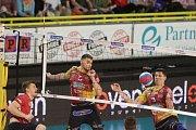 2. finále volejbalové extraligy mužů mezi VK Dukla Liberec vs. VK Jihostroj České Budějovice