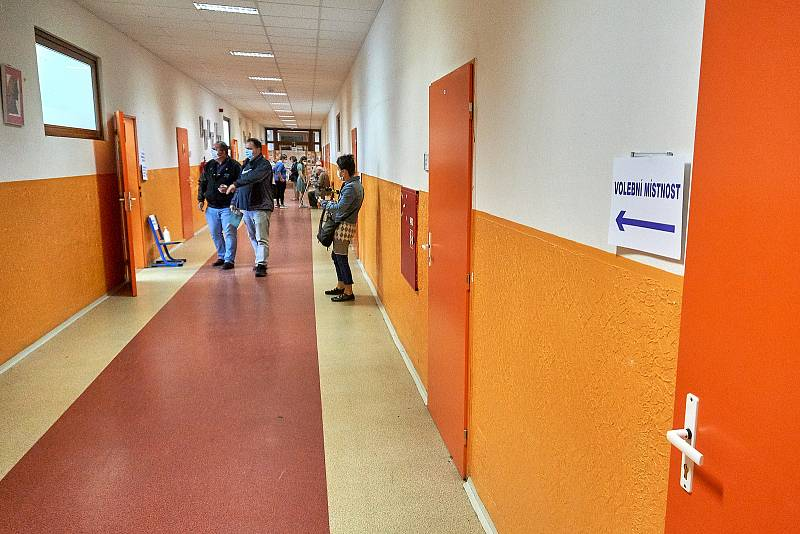 Volby 2021 v Liberci.