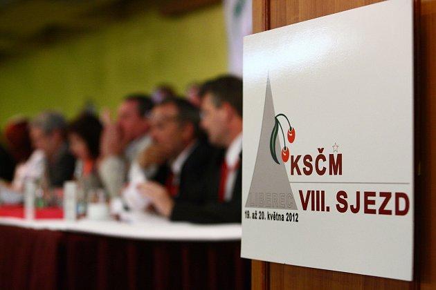 VIII. celostátní sjezd KSČM v Liberci o víkendu 19. – 20.5.