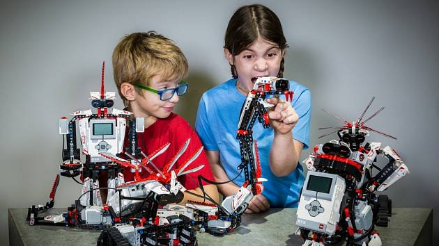 Lego Mindstorms v iQPARKU.