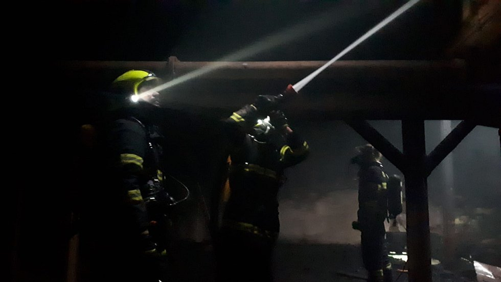 Požár pivovaru Vratislavice n. N.