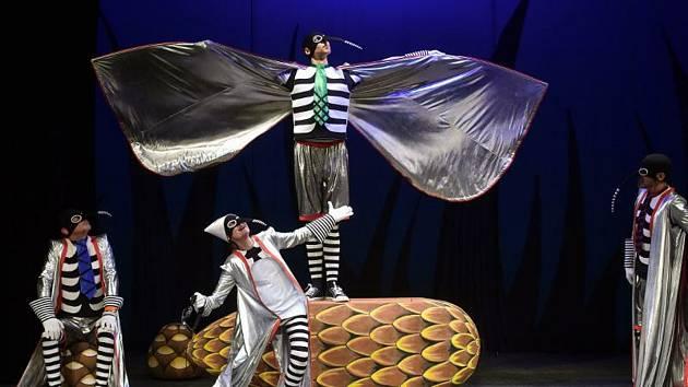 Komáři se ženili v Naivním divadle.