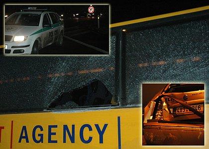 Autobus Student Agency se po týdnu opět stal na Liberecku účastníkem hromadné dopravní nehody.