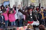 Liberecká ČSSD uspořádala před radnicí dětský den, 2009.